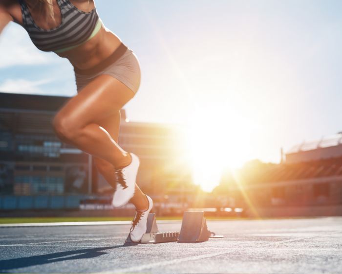 How can sprint training fix my poor posture?