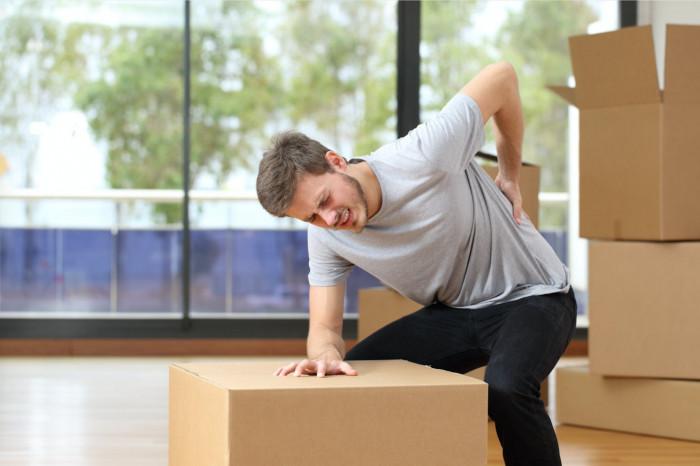 How does the Quadratus Lumborum (Q.L) muscles play a role in back pain?
